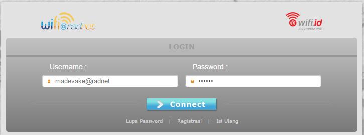 Cara Login Wifi ID Gratis Terbaru Pasti Work